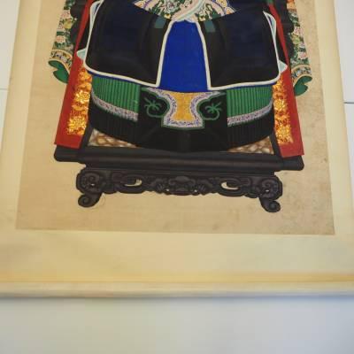 Reparatie Met Japans Papier Op Kleur